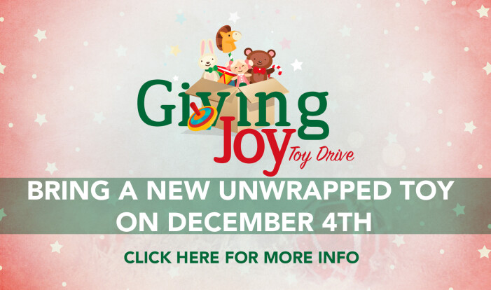 Giving Joy Toy Drive