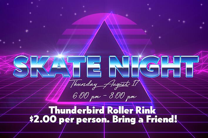 Hunters Glen Skate Night