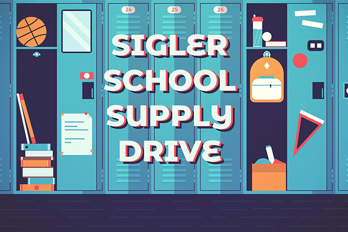Sigler Elementary School Supply Drive