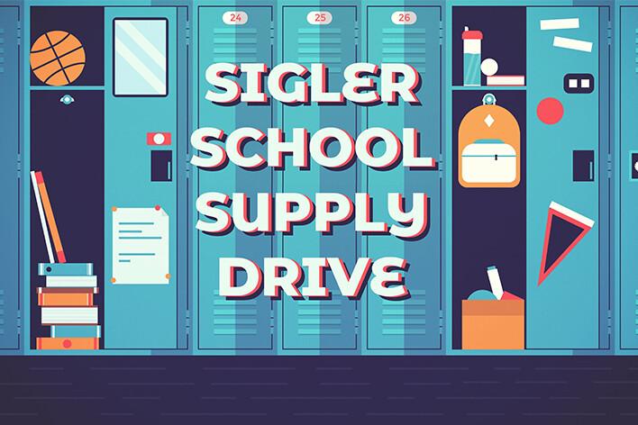 Sigler Elementary School Supply Drive