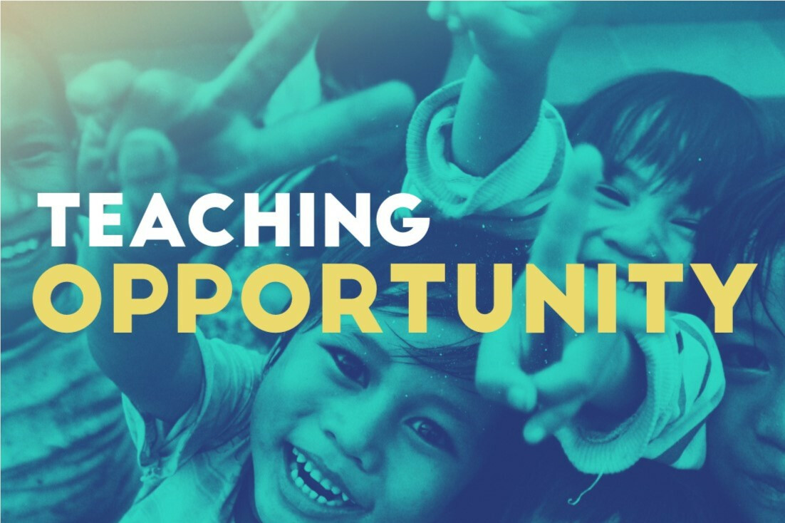 Teaching Opportunity