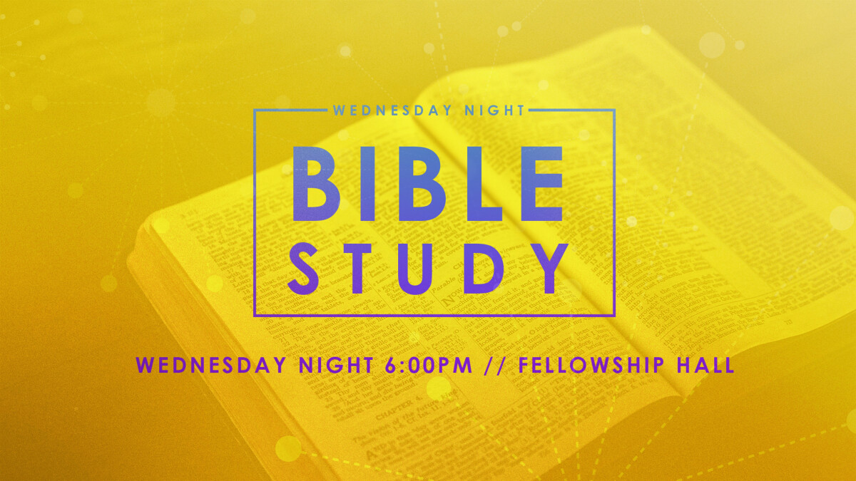 Wednesday Night Bible Study Breakouts