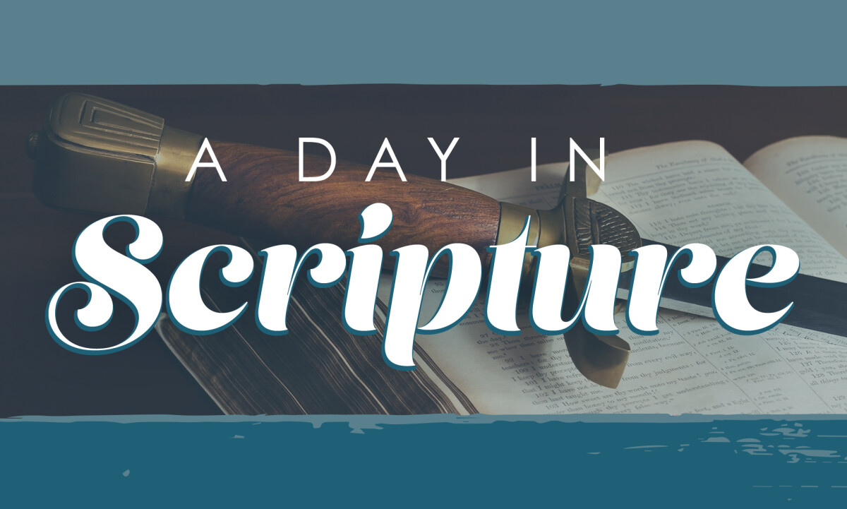 Senior Adults: Day In the Scripture Part 3