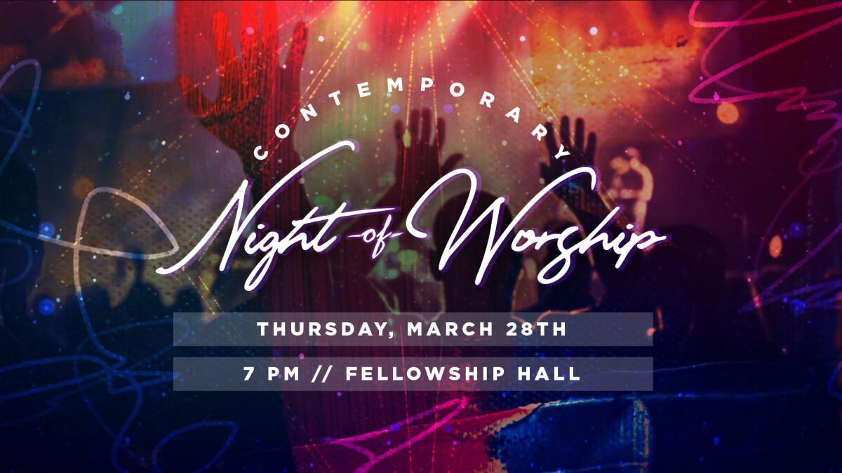 Contemporary Night of Worship