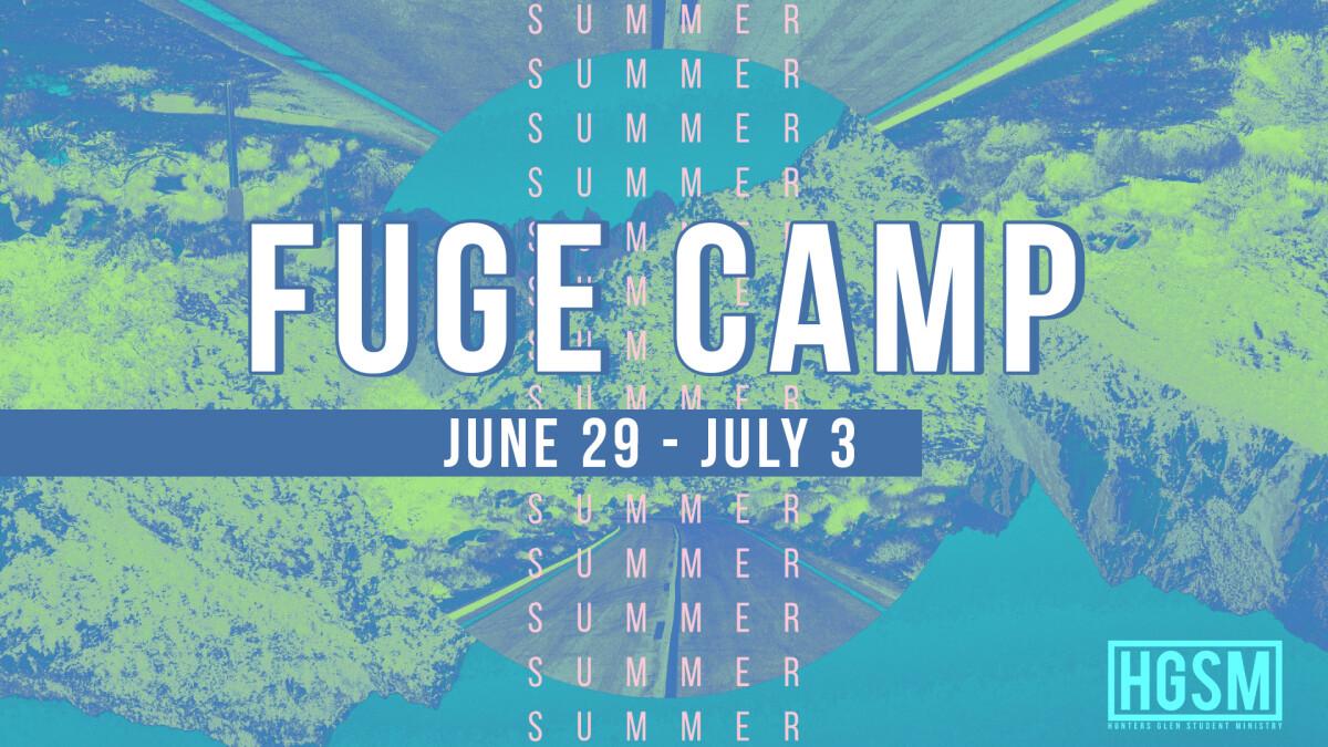 FUGE SUMMER CAMP 2019