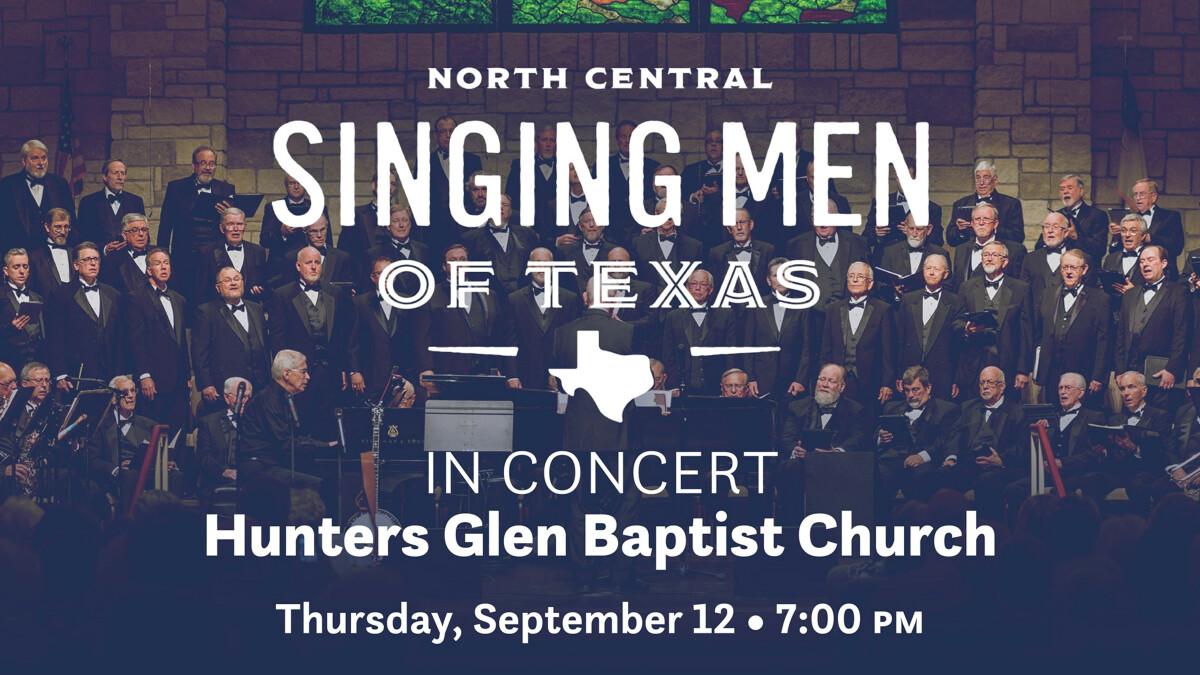 Singing Men of Texas in Concert