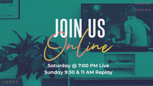 Join Us Live Online Saturday